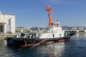 函館ポートサービス新造船ともえ